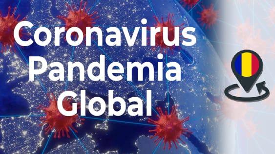 Coronavirus covid-19 pandemia global