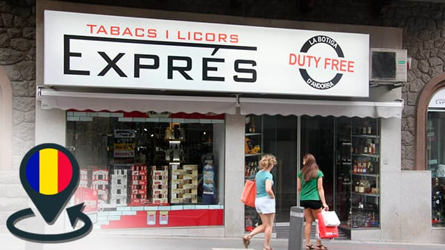 Tobacco and alcohol duty free in Andorra