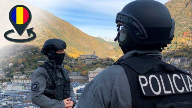 Policía del Principado de Andorra, seguridad