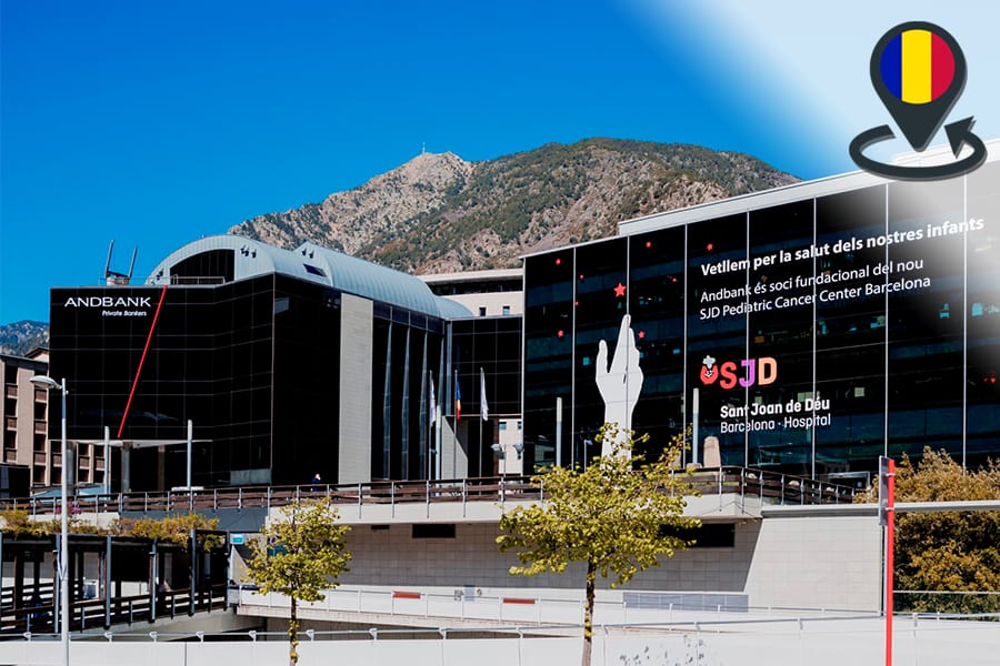 Andbank, Andorra la Vella. Andorran banks, payments and bank accounts