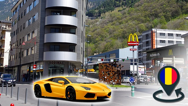Acheter une voiture ou une lambo en Andorre
